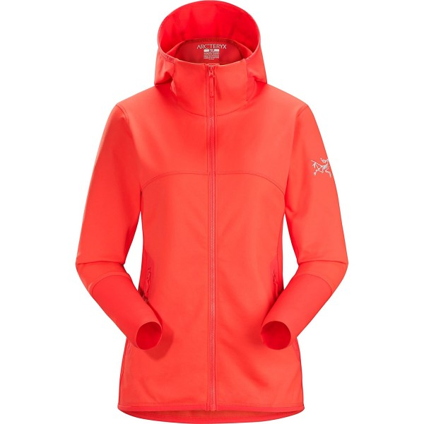 Maeven Hoody Womens Hard Coral