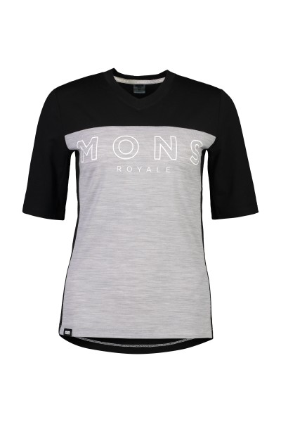 Mons Royale W. Redwood Enduro VT Black/Gre 100458-1146-064
