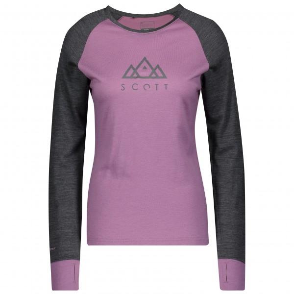 Scott Shirt W's Defined Merino pink