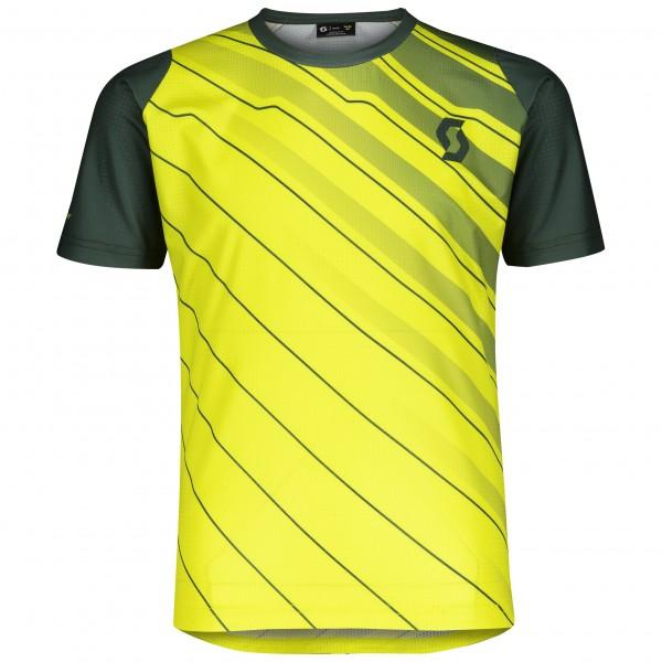 Scott Shirt Jr Trail 10 su yel/sm gr 2804006