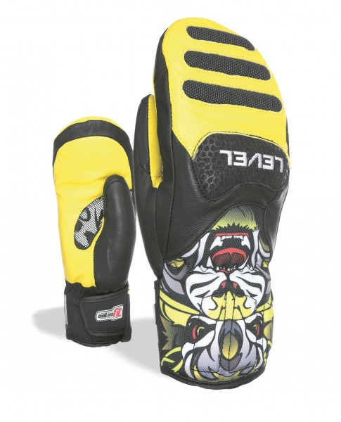 Glove SQ JR CF Mitt Yellow