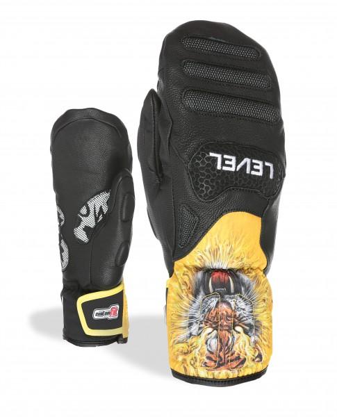 Level Glove SQ JR CF Mitt Black 4112JM