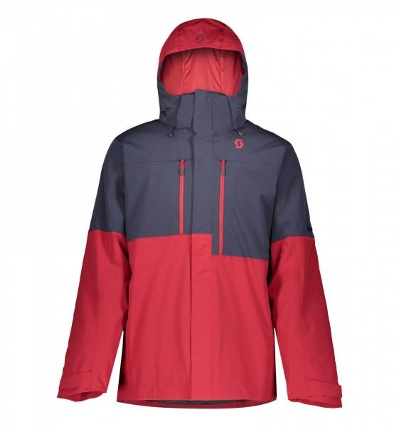 Jacket Ms Ultimate Dryo 10 272507 wine red/blue nights