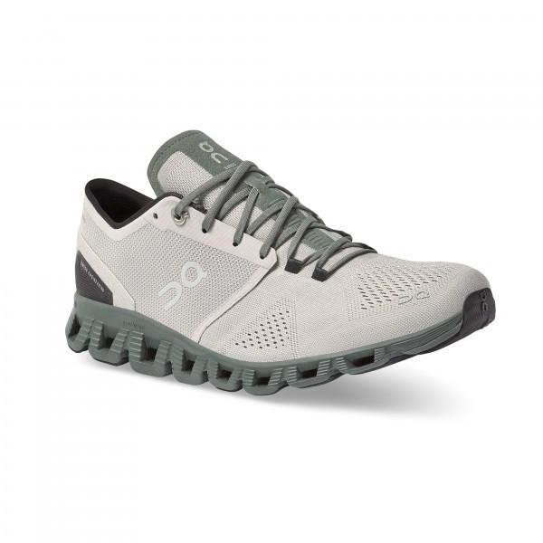 On Running Cloud X Glacier/Olive 40.99595