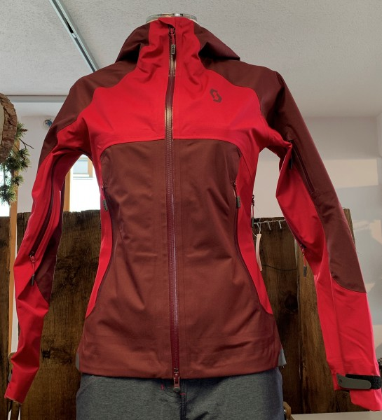 Jacket Ws Explorair 3L mahogany red L
