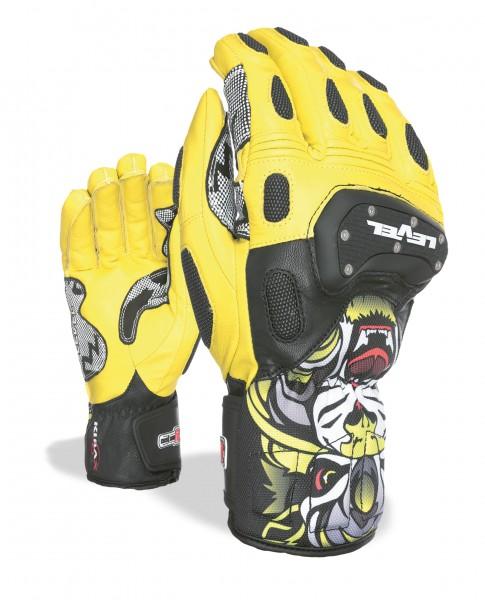 Glove SQ CF Yellow