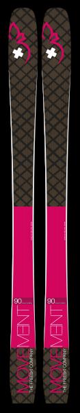 Axess 90 Women Ski 169 cm pink