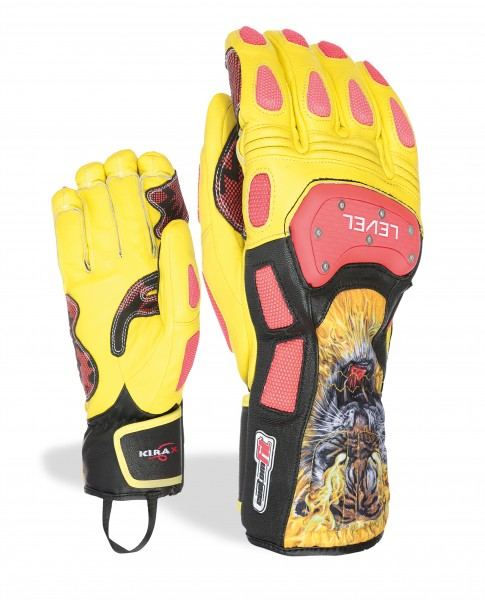 Glove SQ CF - Red