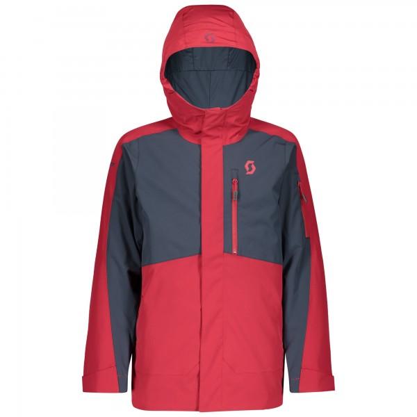 Jacket Bs Vertic 267526 wine red/blue nights