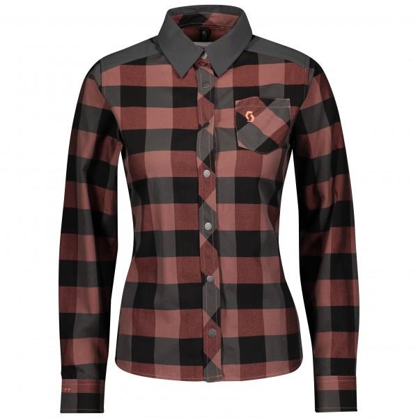 Scott Shirt W's Trail Flow Check bri 280389683