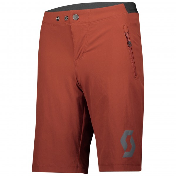 Scott Shorts JR Trail 10 rust red 280404686 (MIT INNENHOSE)