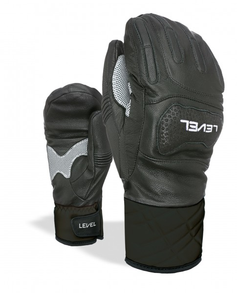 Glove Race Mitt Black