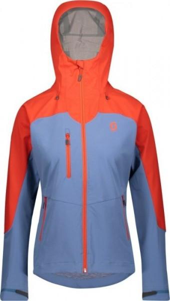 Jacket Ws Explorair Ascent grenadine orange/riverside blue