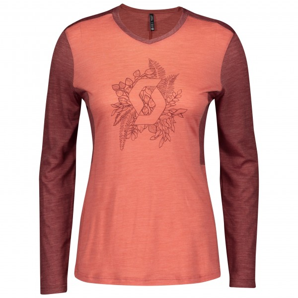 Scott Shirt W's Trail Flow Merino br 280388683