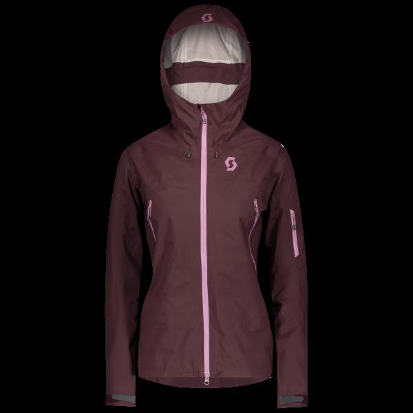 SCO Jacket W's Explorair 3L red fudge
